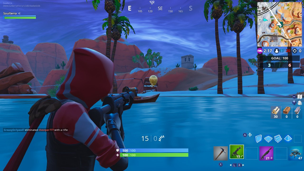 Mobile Fortnite How To Pop Balloons Fortnite Week 9 Challenges Find And Pop 10 Golden Balloons Season 7 Digital Trends
