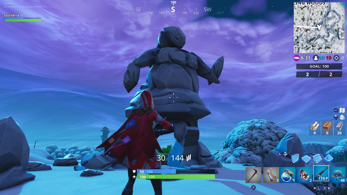 Fortnite Week 8 Challenges: Search Between A Mysterious
