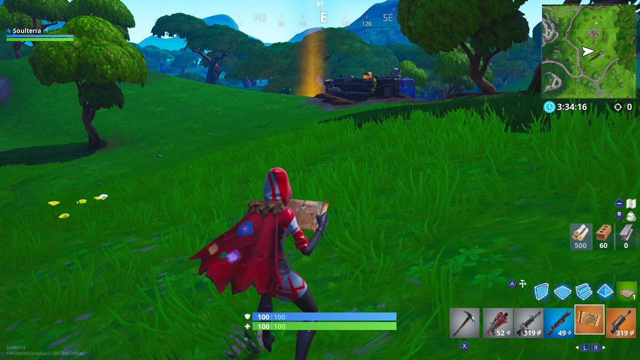 Fortnite Week 4 Challenges guide: Search Buried Treasure ... on a map of jupiter, a map of life, a map of love, a map of odyssey, a map of home, a map of sahara, a map of cascade, a map of time, a map of roosevelt, a map of ocean,