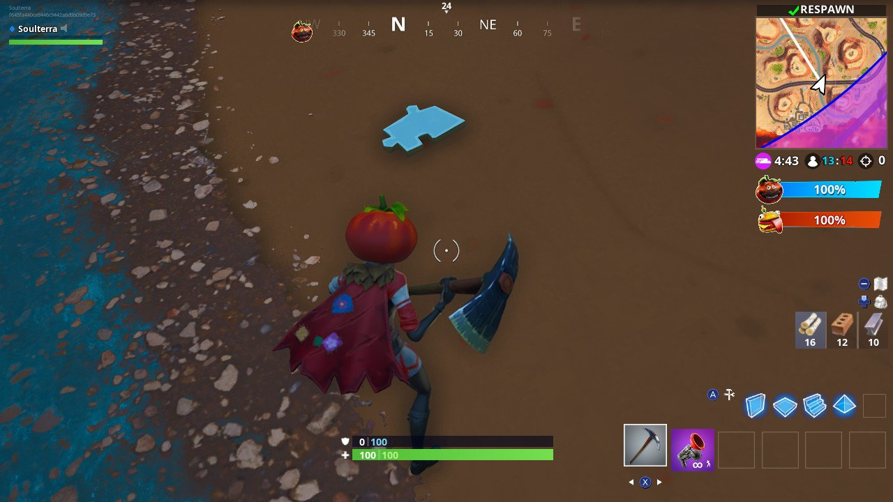 fortnite bridge locations fortnite jigsaw puzzle pieces - search puzzle pieces under bridges and in caves fortnite