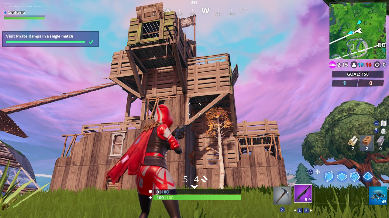 Fortnite Week 7 Challenges Visit 3 Pirate Camps In One Match